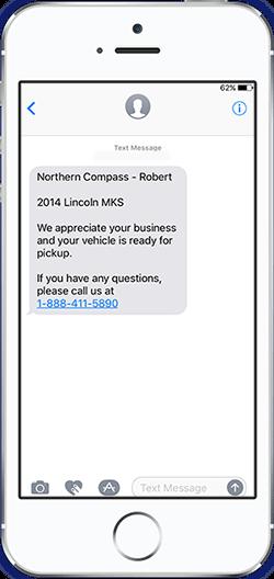 SMS-Vehicle-Pickup
